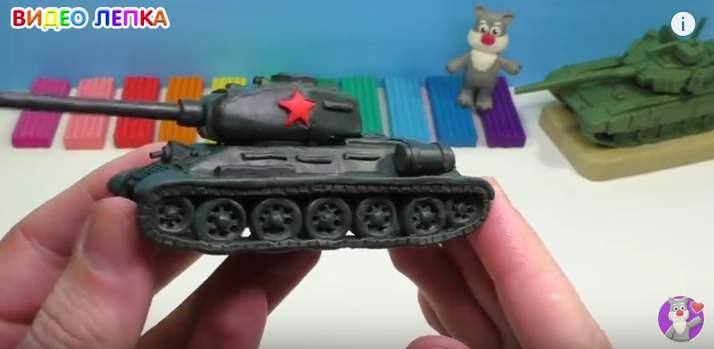 ТАНК Т-34-85 ЛЕПИМ 16